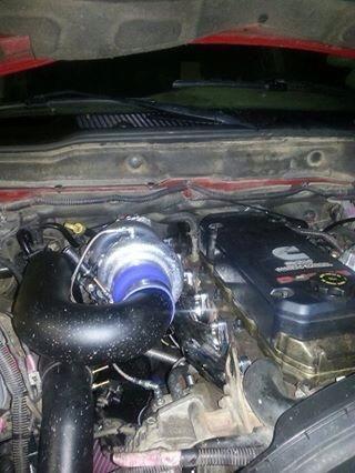 Keith Lepinski - under the hood! Stainless Diesel swap kit