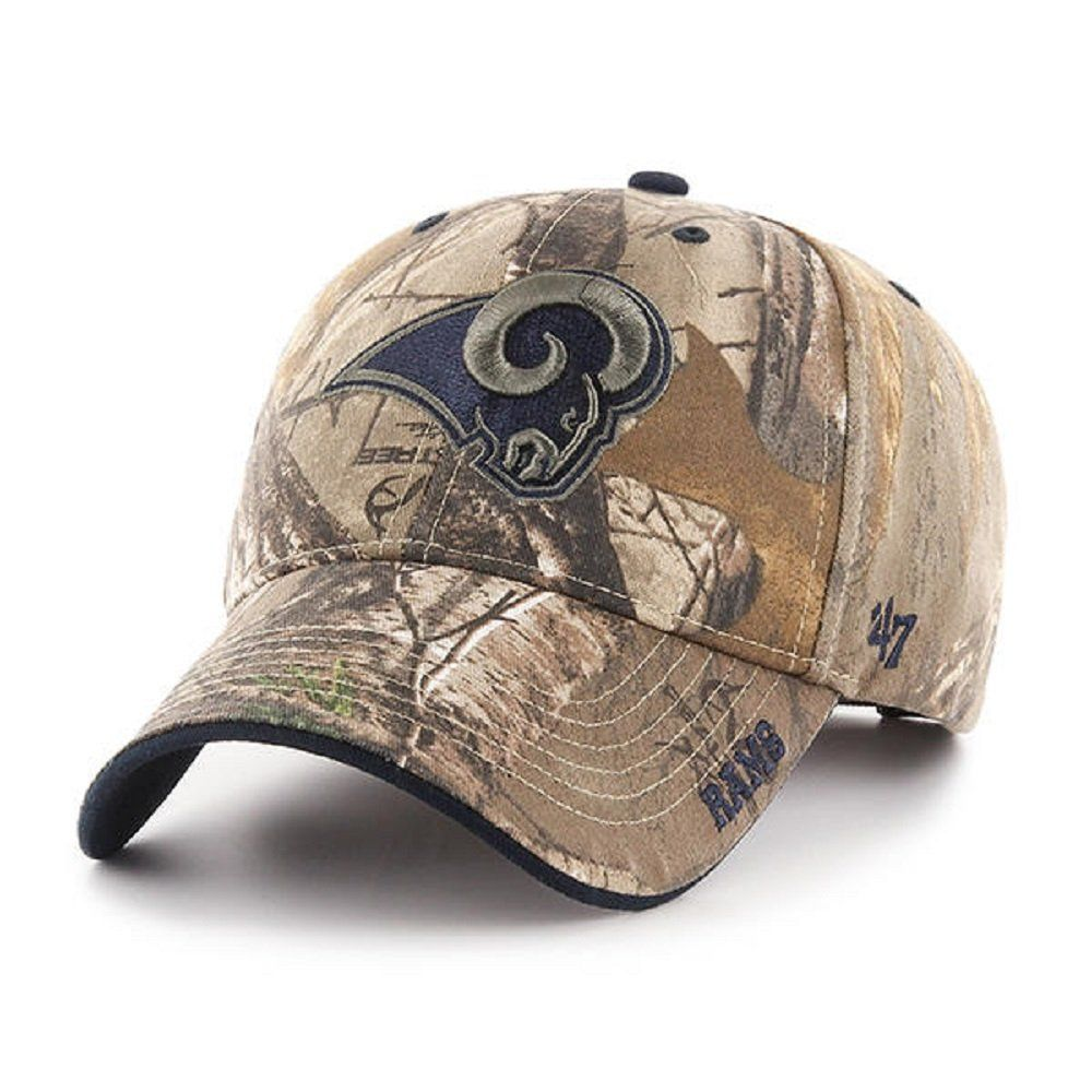 Los Angeles Rams NFL 47 Brand Realtree Frost Camo Hat 01a7b61f0