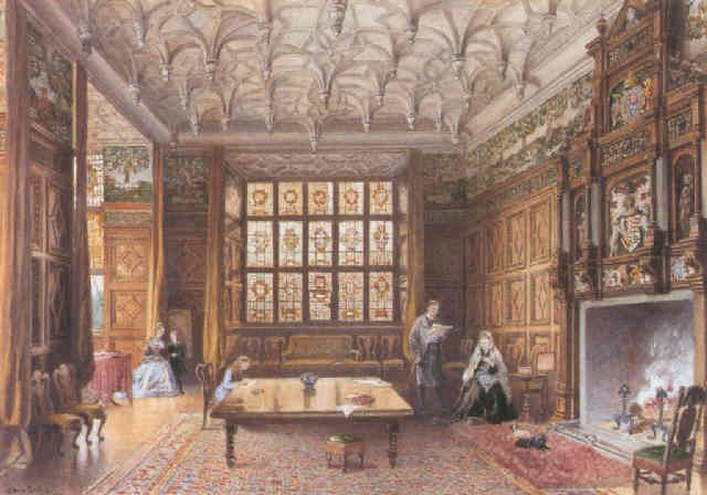 Gilling Castle Yorkshire Great Chamber 1585Elizabethan Magnificent School Dining Room Inspiration Design