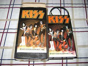 Kiss 1977 Kiss Vintage 1977 Radio With Box Aucoin Ebay Kiss