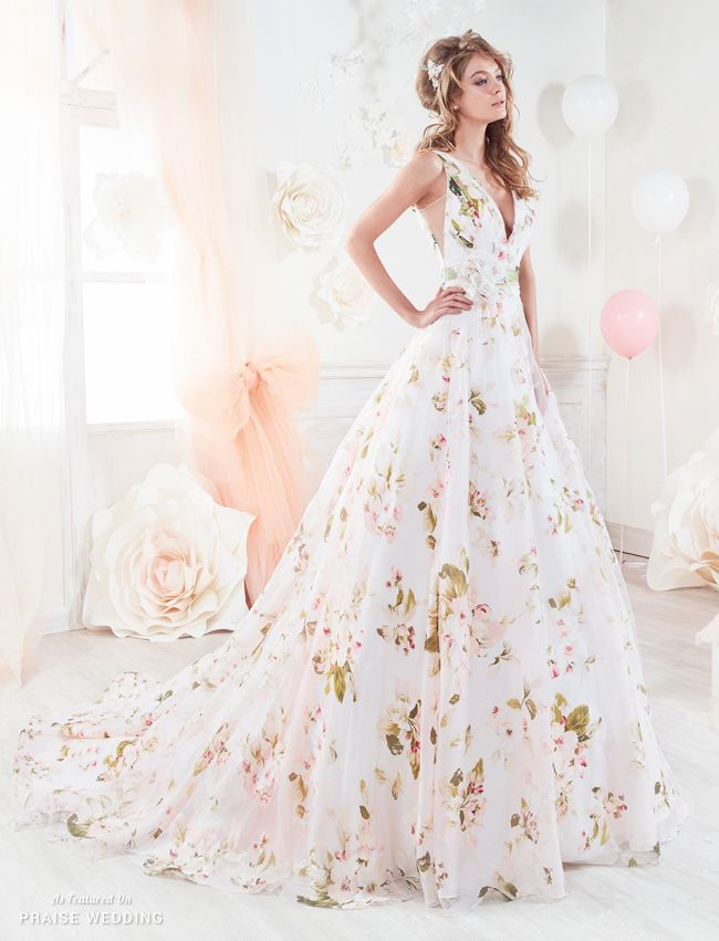 Falling In Love With This Garden Inspired Gown From Colet