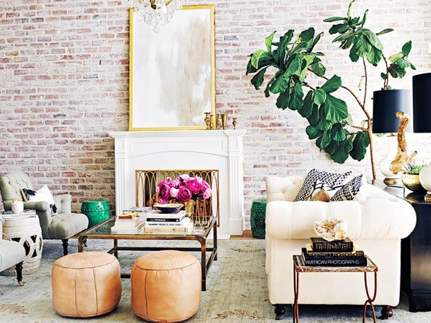 7 Décor Ideas to Steal from Hollywood's Coolest It-Girls: Take a cue from the homes of leading ladies like Lauren Conrad and Jessica Alba to make your own place a style star. via @domainehome
