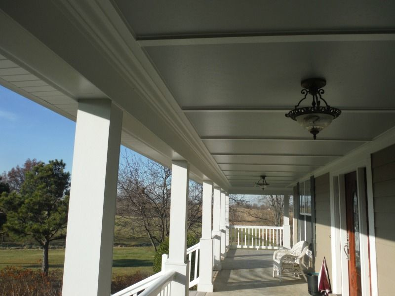 Hardie Smooth Panel W Hardie Crown Porch Ceilings In