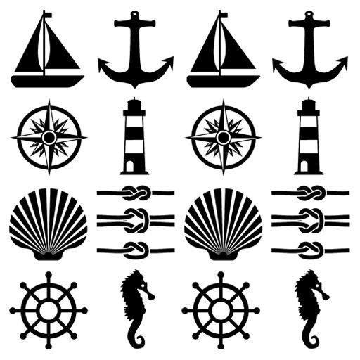 Azulejos marineros en 2018 | Vinilos Decorativos | Beach, Beads y Knots