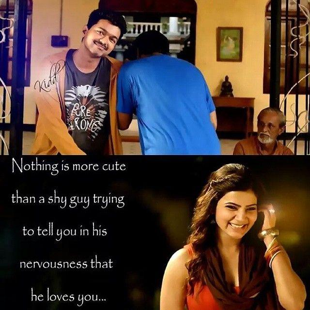 That Moment! Cherish It!! #Vijay #Samantha In #Kaththi
