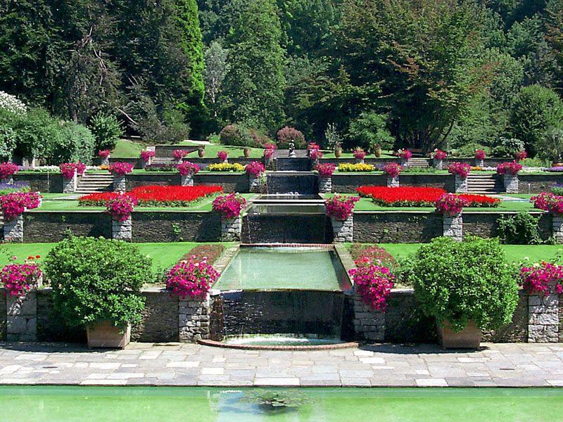 villa taranto cascata d'acqua | Beautiful gardens ...
