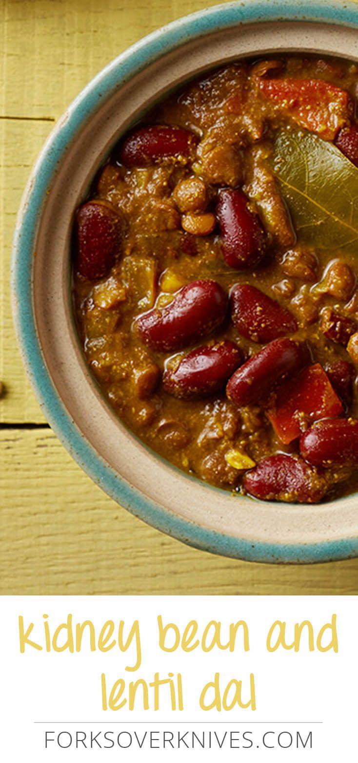 Vegan Kidney Bean Dal