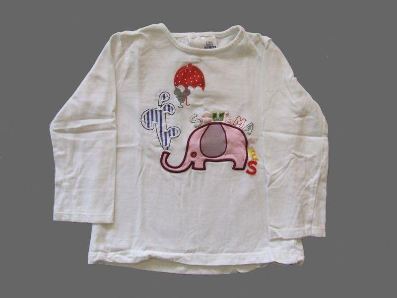Ref. 900598- Camiseta ML - Zara- unisex - Talla 18 meses - 4€ - info@miihi.com - Tel. 651121480