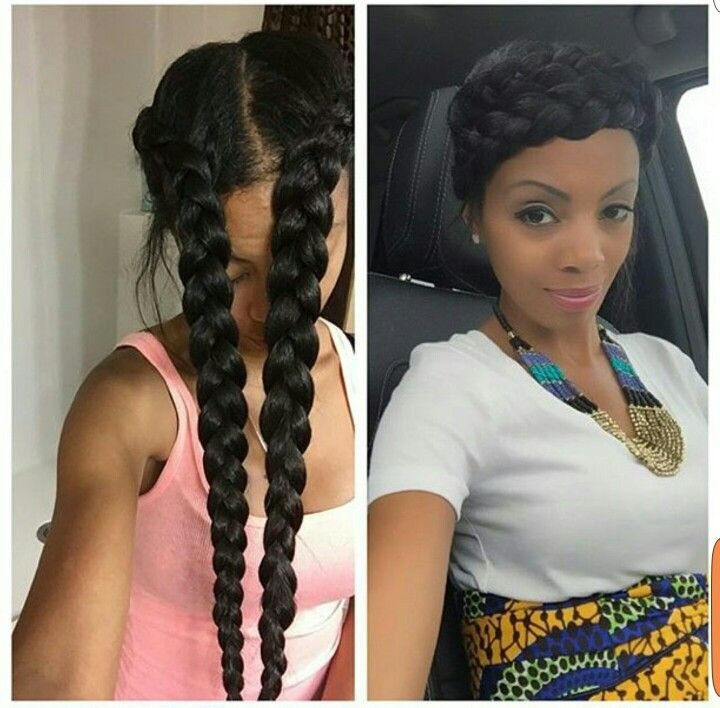 Would You Want To Spend This Much Time On These Chunky Beautiful Box Braids I