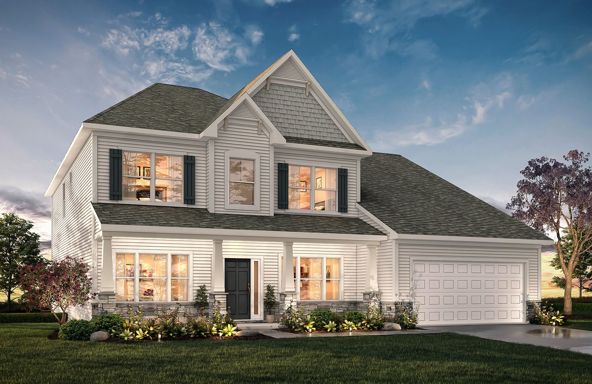 Kensington T Ch2 In 2020 True Homes House Styles House Elevation