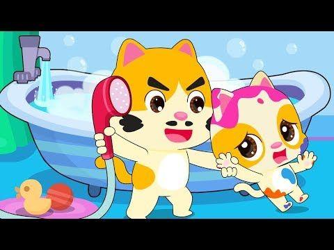 I Don T Want A Bath Bath Song Colors Song Nursery Rhymes Kids Songs Babybus Youtube Nursery Rhymes Kids Songs Color Songs