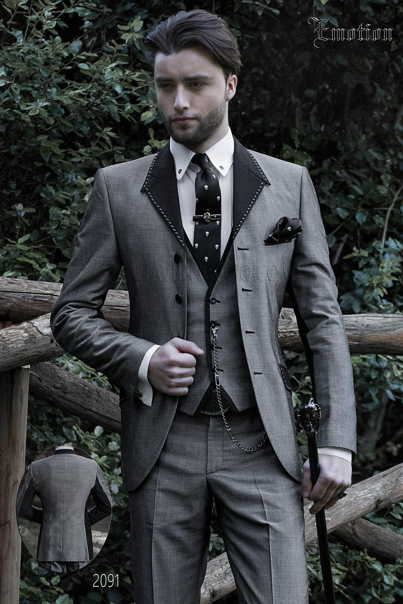 Hipster Matrimonio Uomo : Abito da sposo moderno grigio per uomo hipster. completo ongala 2091