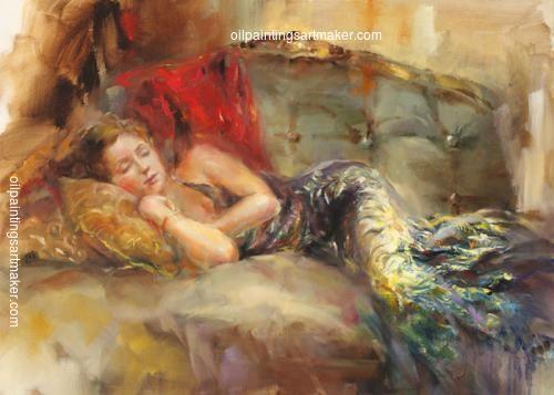 Anna Razumovskaya Velvet Dream painting gallery, painting - $87.00