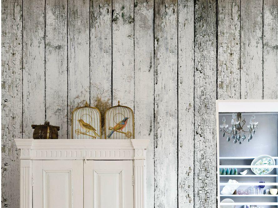 Tapete in Holz-Optik SVALBARD by Wall | madlen | Pinterest