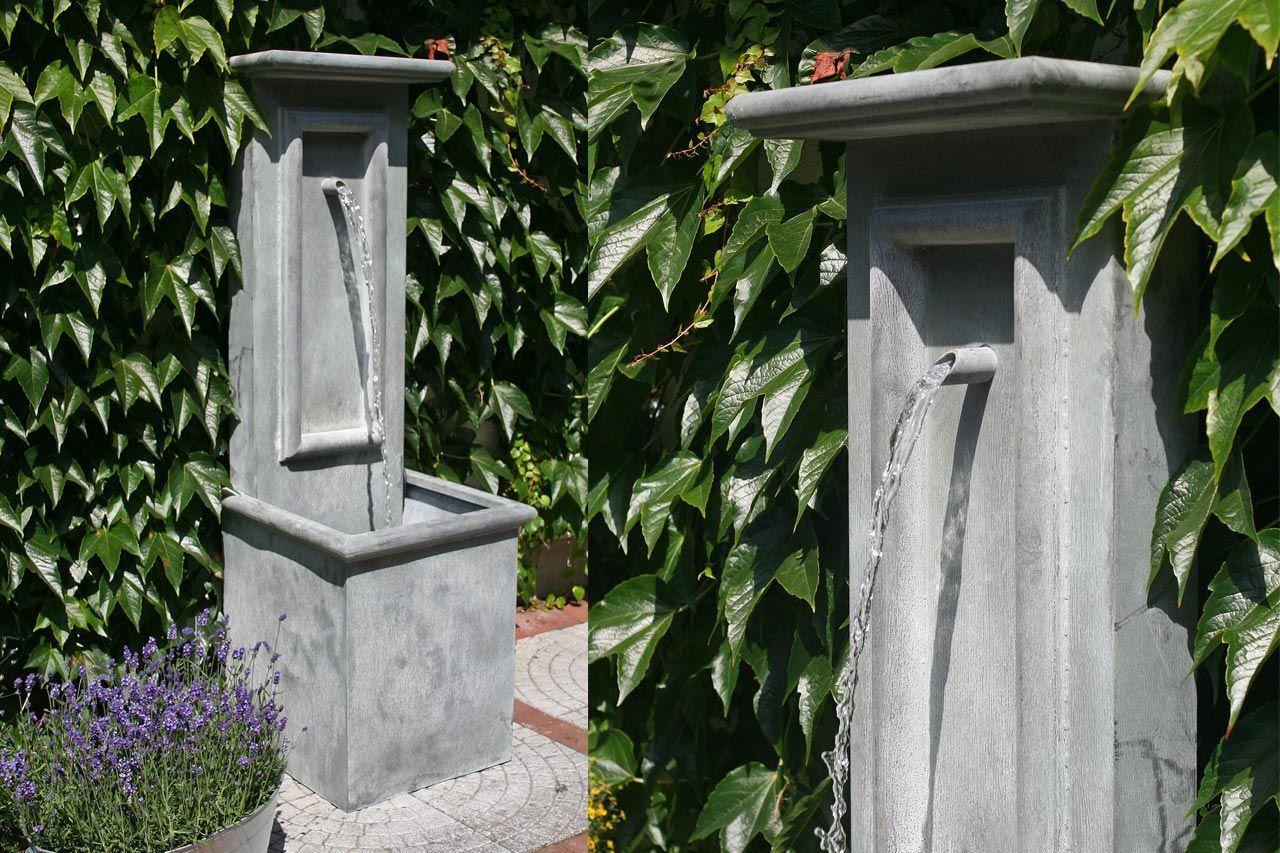 Klassischer Gartenbrunnen Antiker Brunnen Wandbrunnen Zinkbrunnen  Wasserspeier Brunnen Für Bauernhaus Park