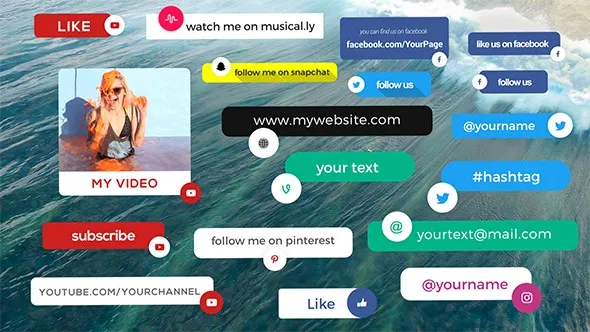 Social Media Info Box 17785071 Videohive Free Download After Effects Templates After Effects Cc 2018 Cc 2017 Social Media Videohive After Effects Templates