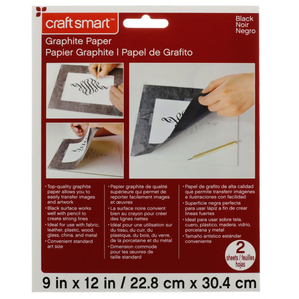 Graphite paper by craft smart art and craft design