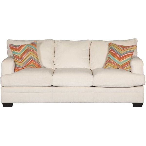 Sassy Cream Sofa by Simmons Upholstery is now available at American ...