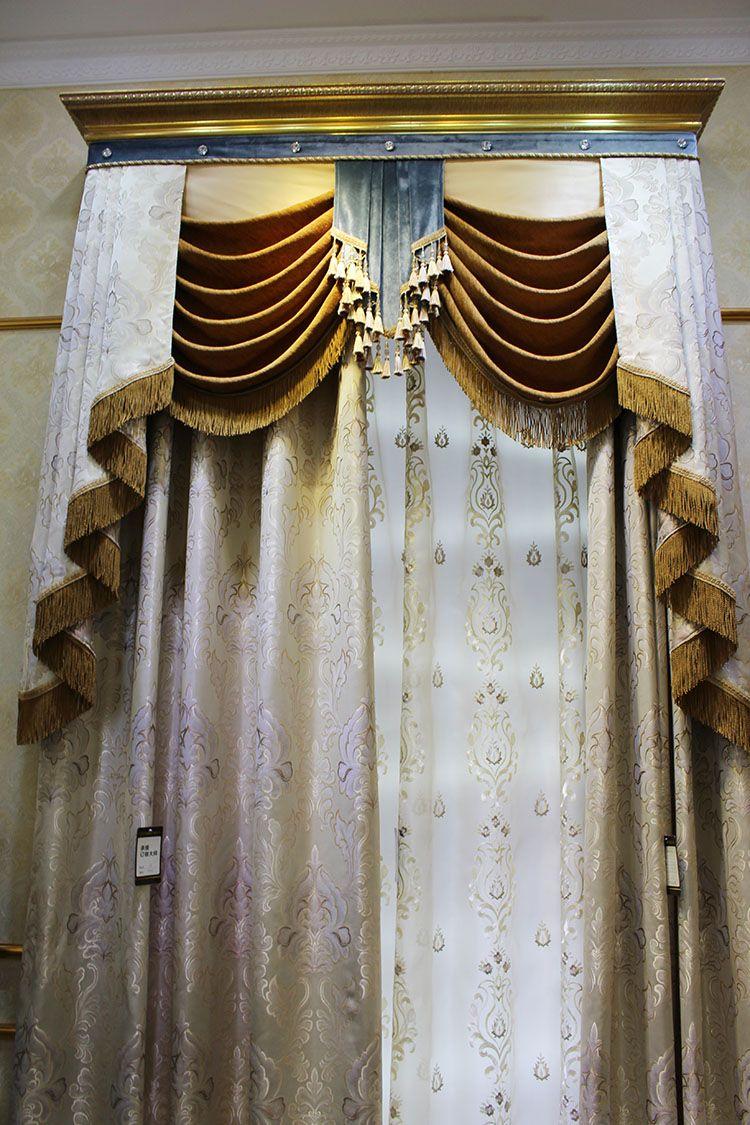 Motorized Hotel Fireproof Blackout Arabic Block Out Curtains For Hotel Curtains Curtains For Sale Luxury Curtains