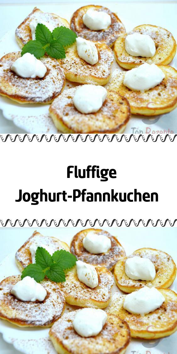 Fluffige Joghurt-Pfannkuchen #frühstückundbrunch