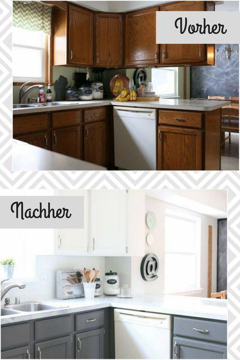 Küchenfronten erneuern Verleihen Sie dem angestaubten