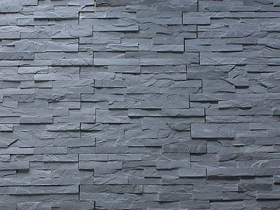 Black Slate Split Face Mosaic Tile Rock Panels Wall Cladding Diy Deals