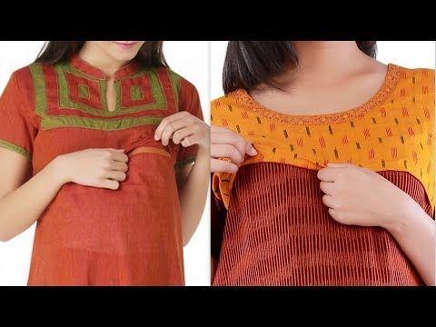 947a0952a0a Feeding kurtas with zip feeding kurtis for mothers maternity kurta designs  - YouTube