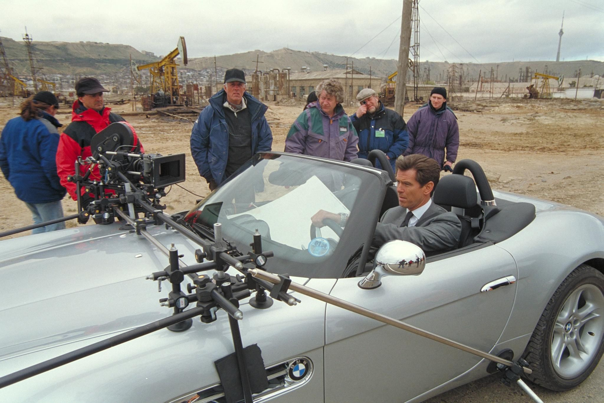 Bond In A Bmw Just Wrong Pierce Brosnan James Bond James