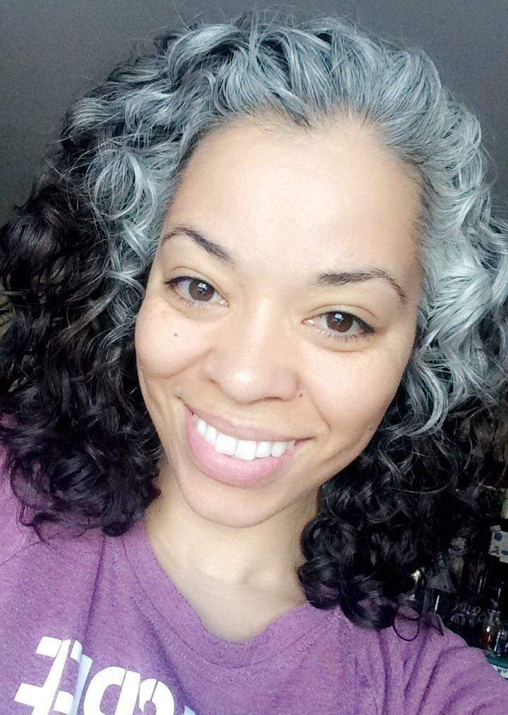 , earlytransitioninghairstyles in 2020   Natural gray ...
