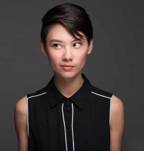 Asian Straight Hair Pixie Cut People Pinte