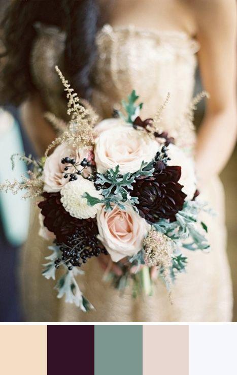 5 nude color palettes for your wedding day wedding pinterest braut brautstr u e und. Black Bedroom Furniture Sets. Home Design Ideas