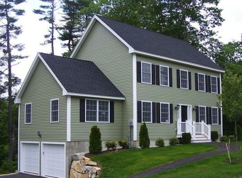 How To Clean Vinyl Siding Cleaning Vinyl Siding Vinyl Siding House Green Siding