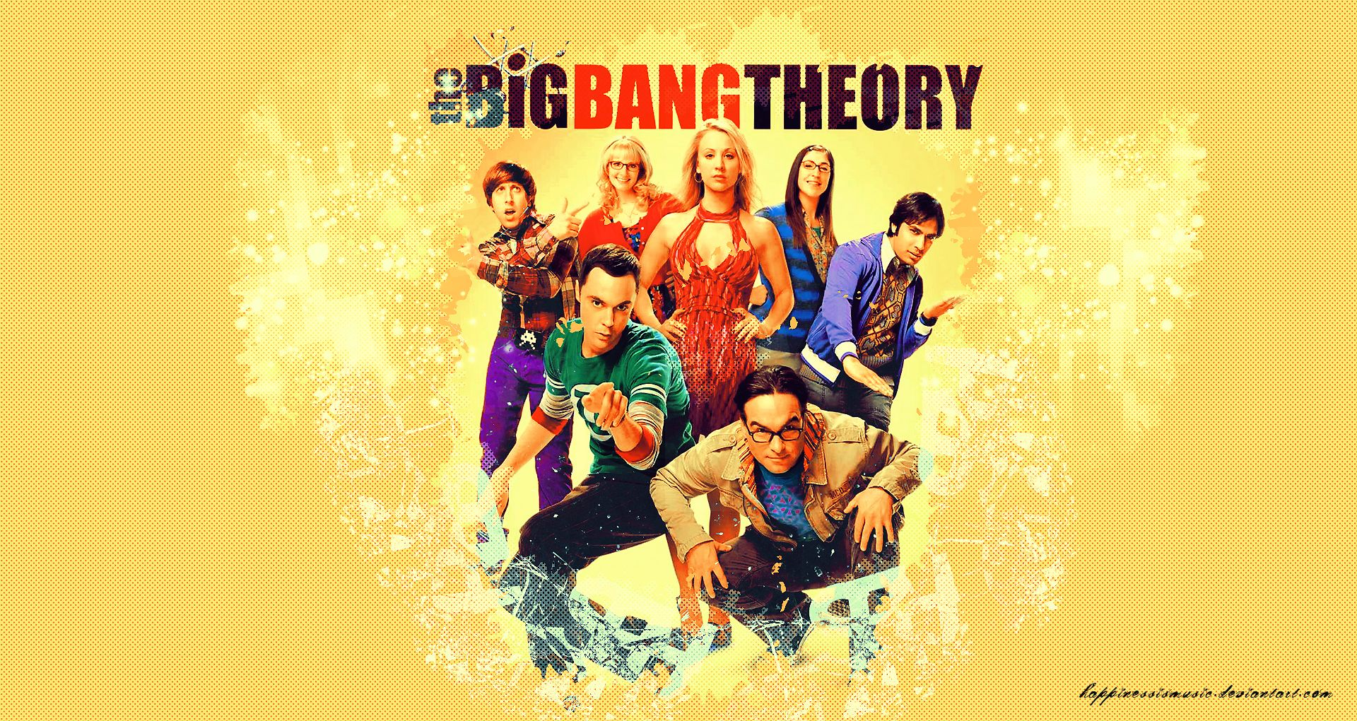 The big bang theory wallpaper 4 by HappinessIsMusic.deviantart.com ...