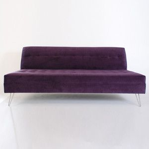 Laird Sofa Bella Aubergine now featured on Fab.