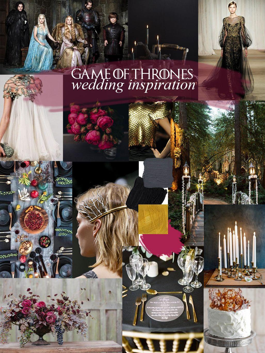 wedding inspiration: game of thrones! | wedding themes