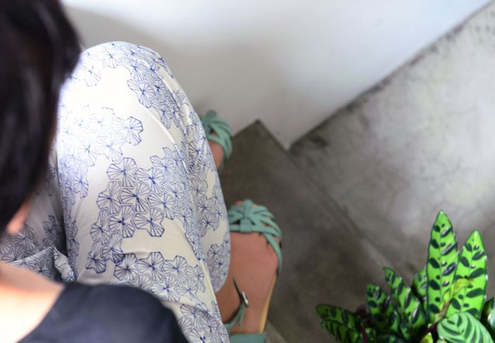 Bloesem living | Matter pants - patterns and comfort, perfect for travel