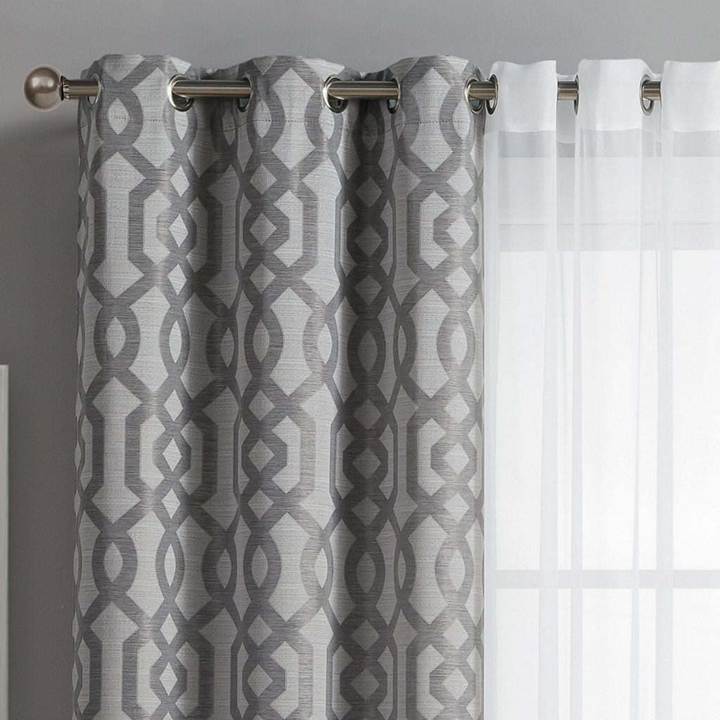 VCNY 5-pack Barcelona Double-Layer Curtain Set  Curtain decor