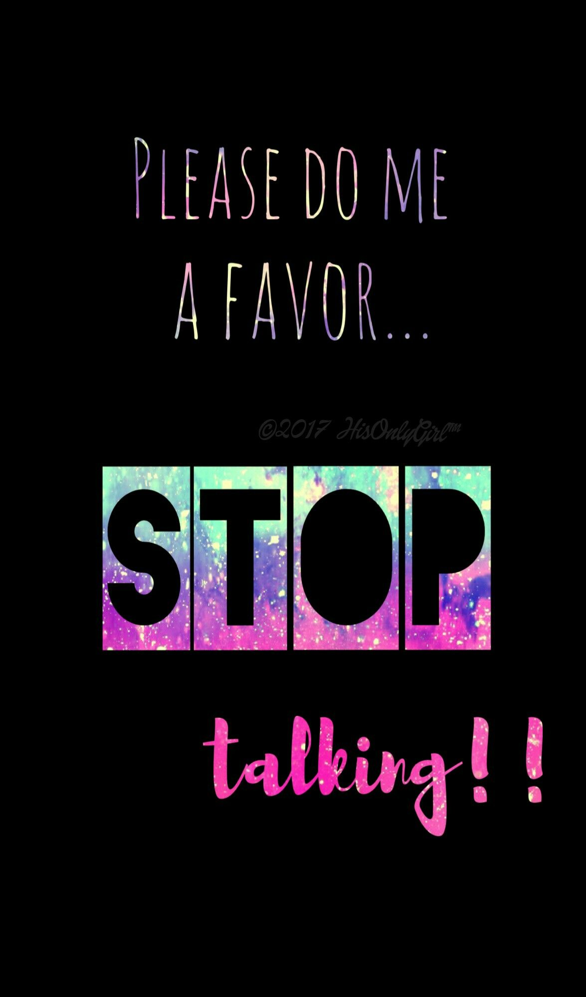 Stop talking galaxy wallpaper i created for the app - Quit wallpaper ...