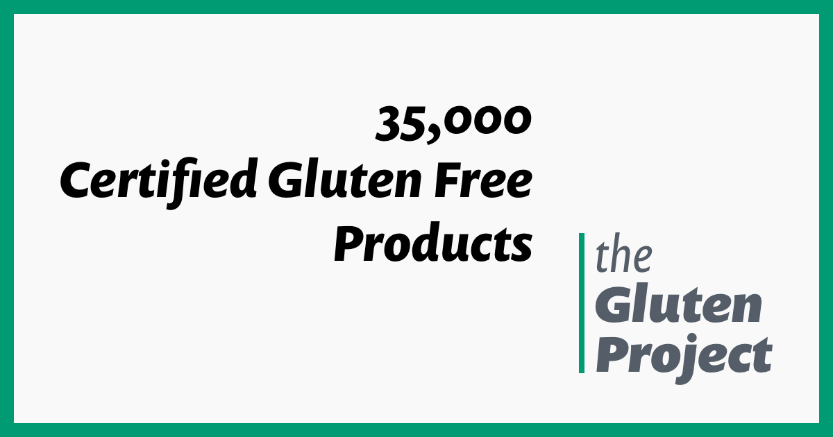 Find All Certified Gluten Free Products The Gluten Project Gluten Free Sausage Certified Gluten Free Gluten Free Cereal