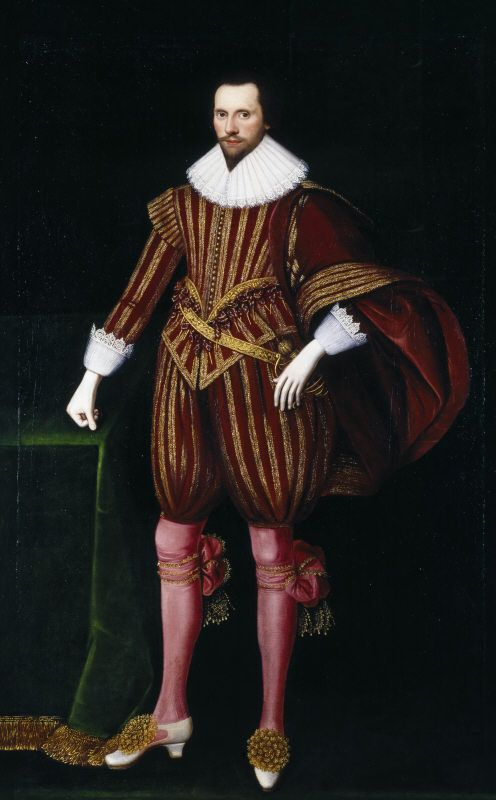 Portrait of Francis Seymour, 1st Baron Seymour of Trowbridge (c.1590-1664), in the style of William Larkin, at Petworth House (inv. no. NT486188). ©National Trust Images/John Hammond