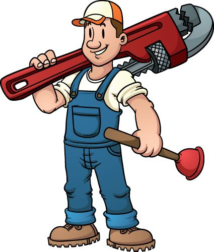 plumbers funny pictures funny plumber design elements vector 03 rh pinterest com plumbing clip art plumber clip art images