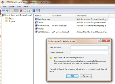 Hack administrator password in windows 7 & vista ~ Come to