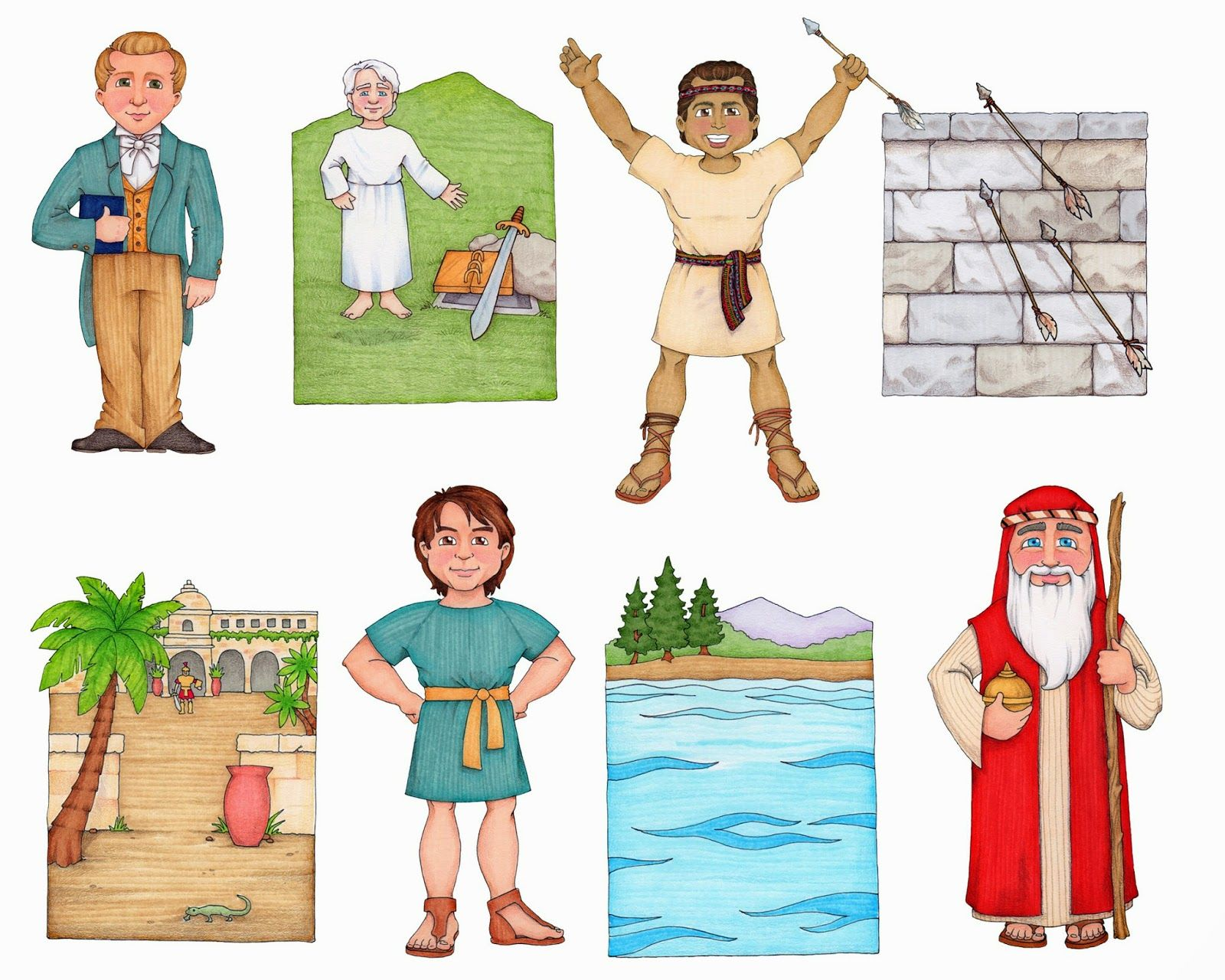 Follow The Prophet Clip Art   Songs, For the and Clip art