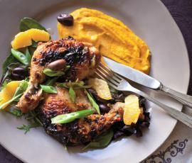 Recipe Moroccan Chicken with Carrot Puree by Thermomix in Australia - Recipe of category Main dishes - others