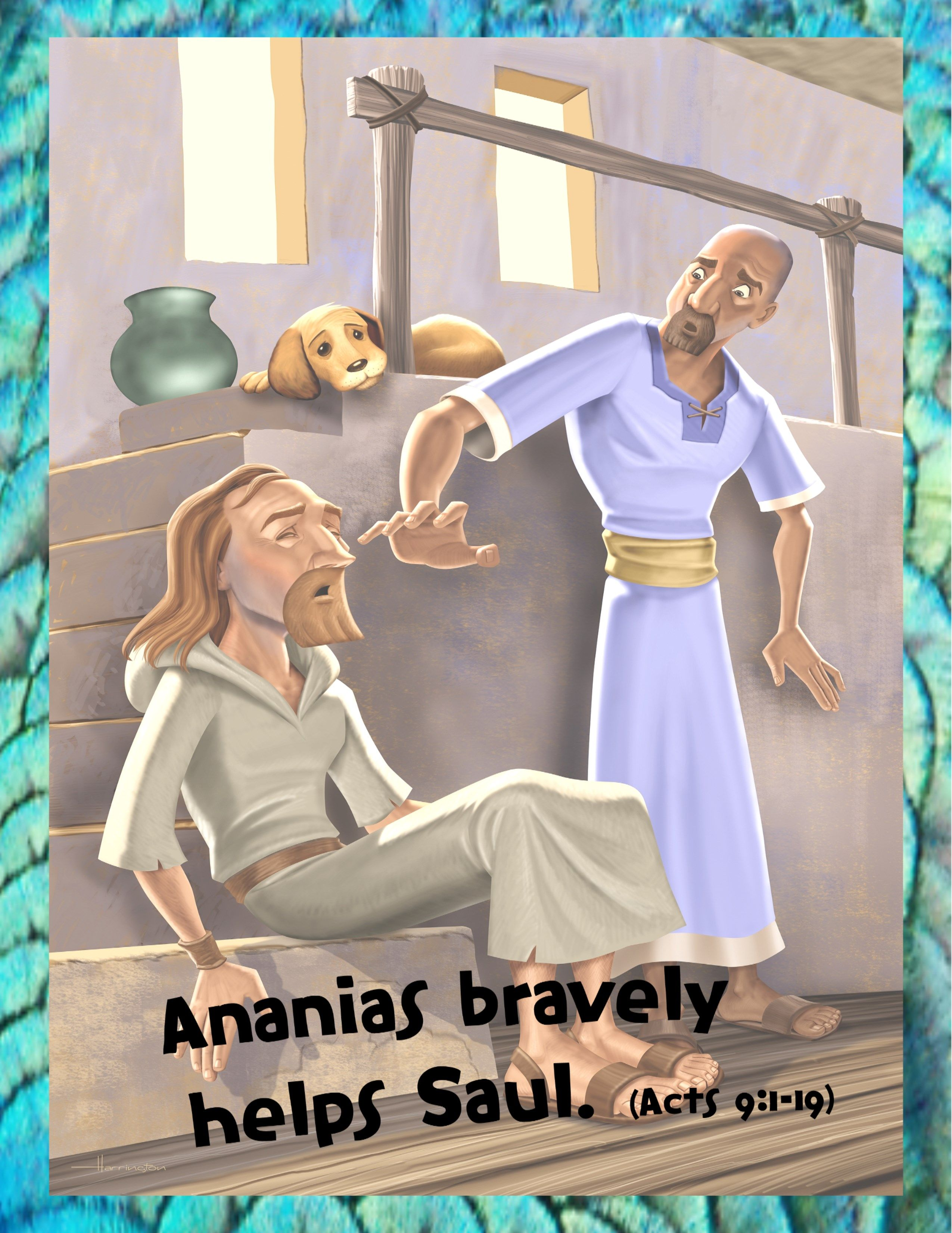 Bible Story Day 5