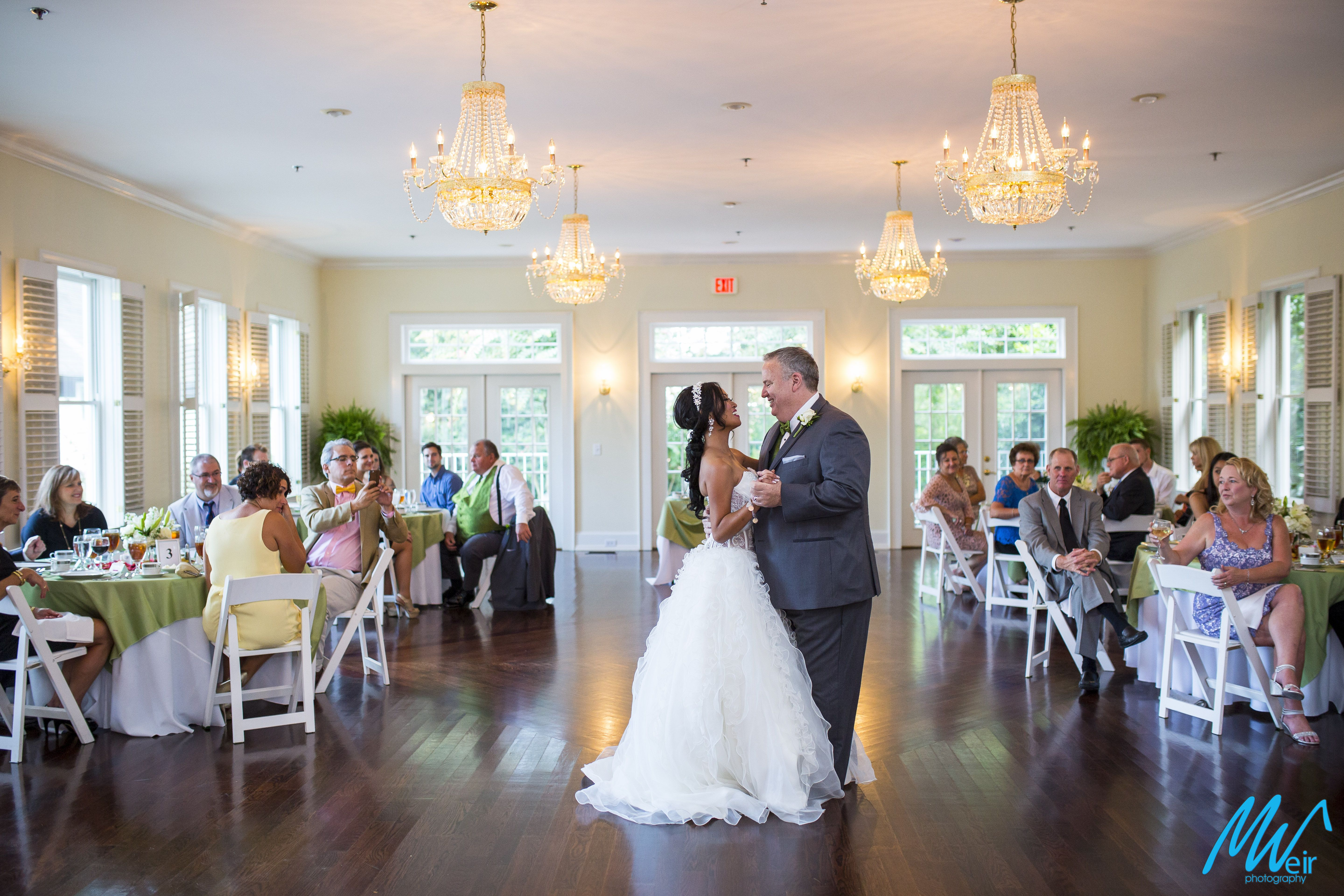 First Dance At A Small Intimate Wedding In The Whitlock Inn Marietta Ga