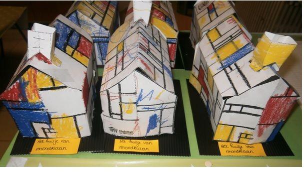 Het huisje van Mondriaan.