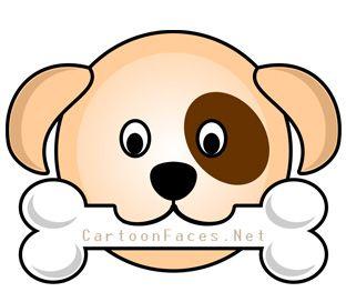 puppy dog face clip art clipart panda free clipart images clip rh pinterest com bulldog face clipart dog face clipart black and white