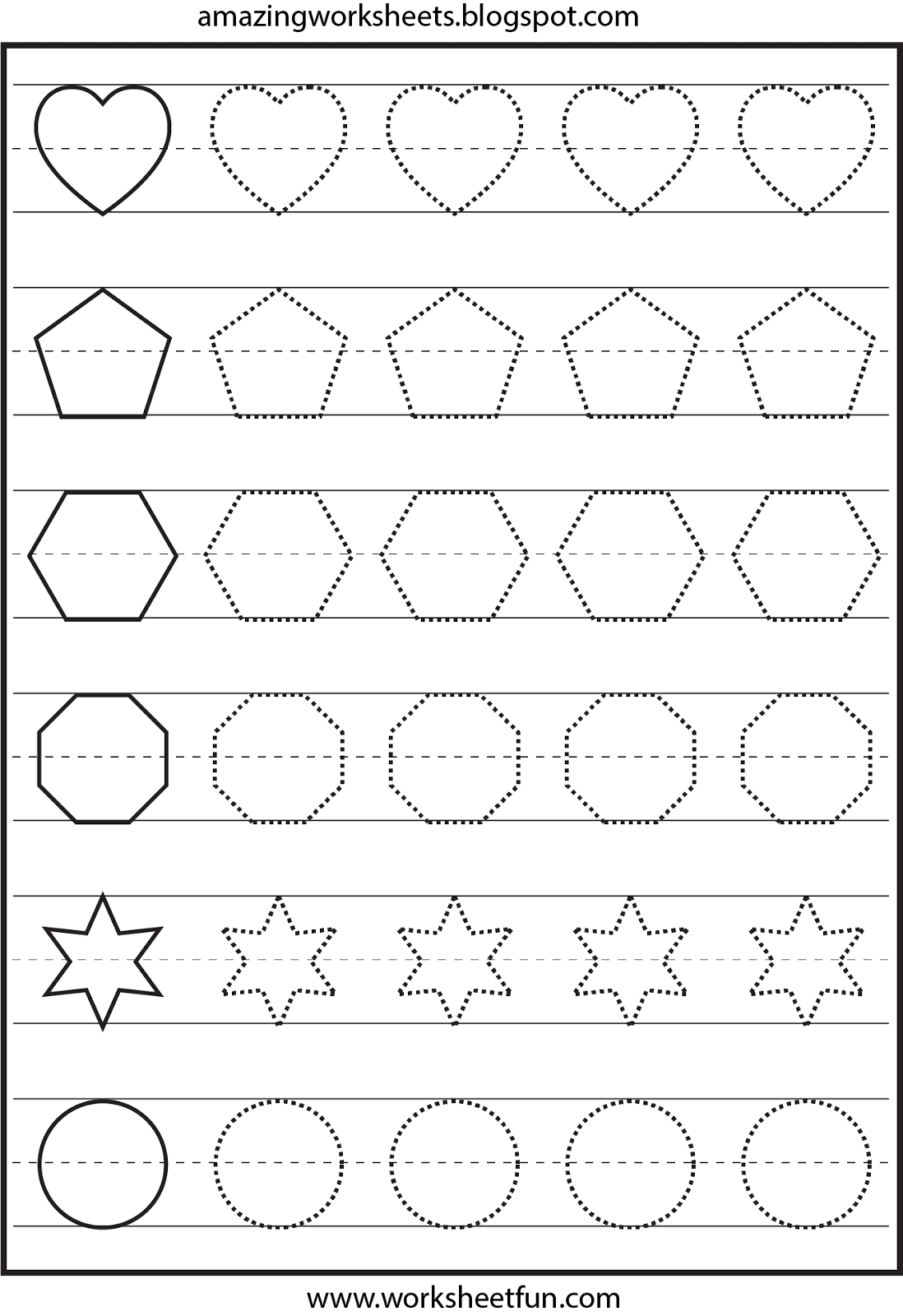 Many Free Worksheets