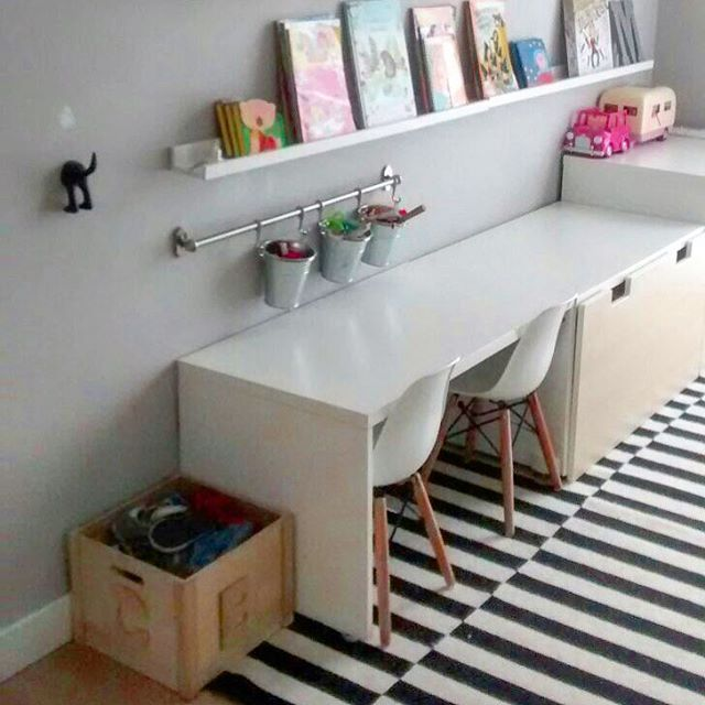 Such A Cute Study Area For Kids